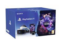 Playstation vr bundle + resident evil game + vr world