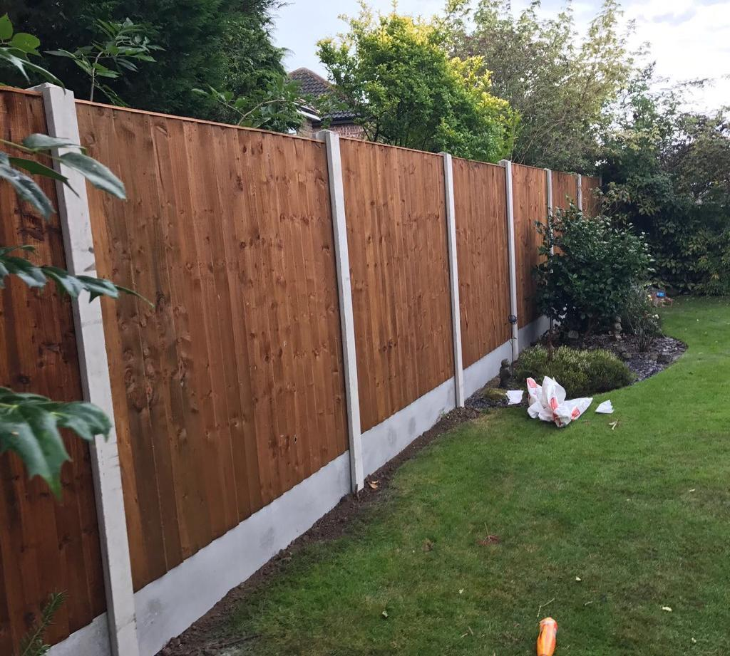 🐞 High Quality Wooden Tanalised Garden Fence Panels | in Middlewich ...