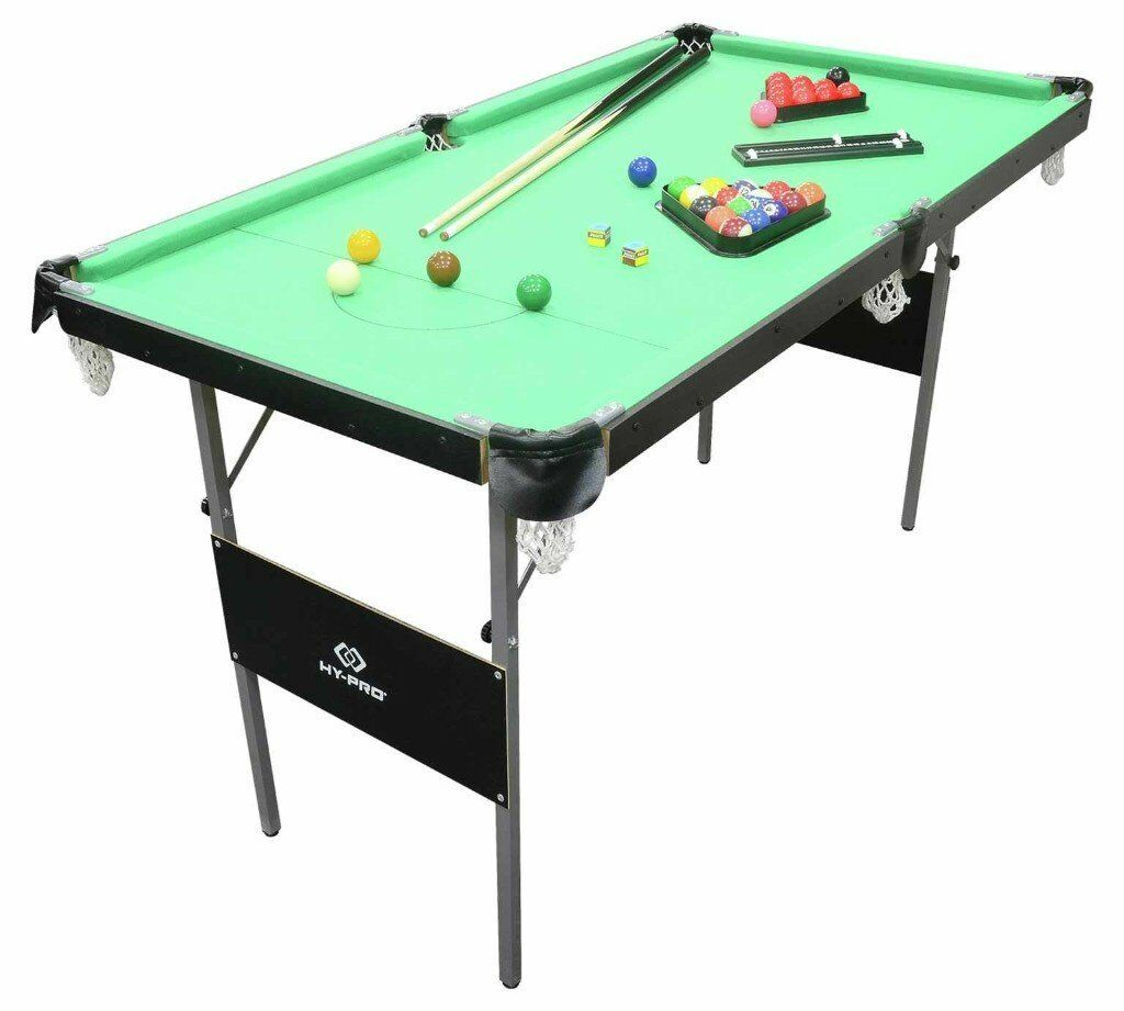 Snooker and Pool table 4ft 6in