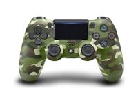 PS4 DualShock 4 Controller Green Camo V2 BRAND NEW SEALED OFFICIAL