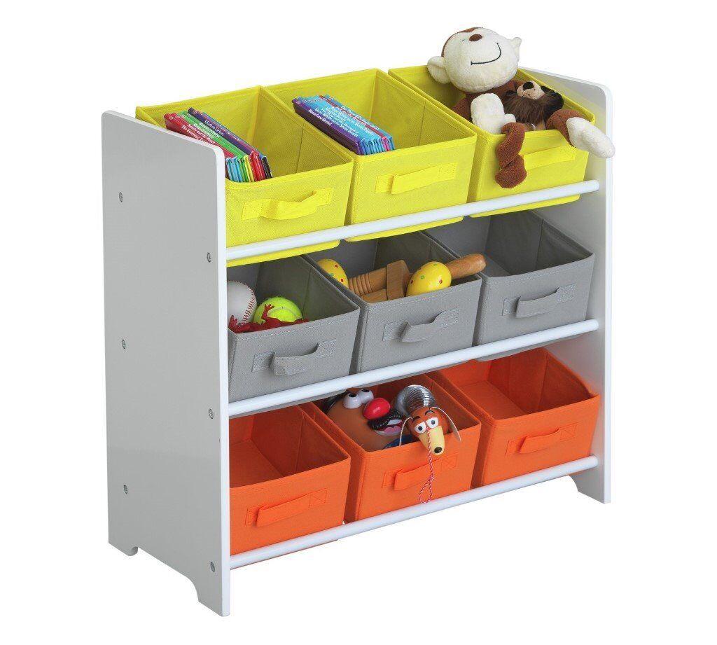 3 Tier Childrens Basket Storage Unit (Argos Cat No 600/8006)