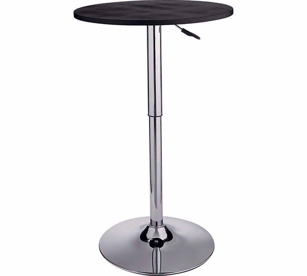 Bar Table, Kitchen Table, Tall Round Table, Adjustable Bar Table, Looks Like