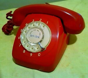 Original Red Dial Phone from the 70s North Sydney North Sydney Area Preview