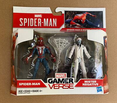 Marvel GamerVerse 2 pack SPIDER-MAN & MISTER NEGATIVE new in box (5R0-1)