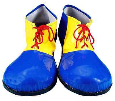 Clown Shoes Circus Party Fancy Dress Halloween Child Costume Accessory 2 COLORS - Kids Clown Shoes