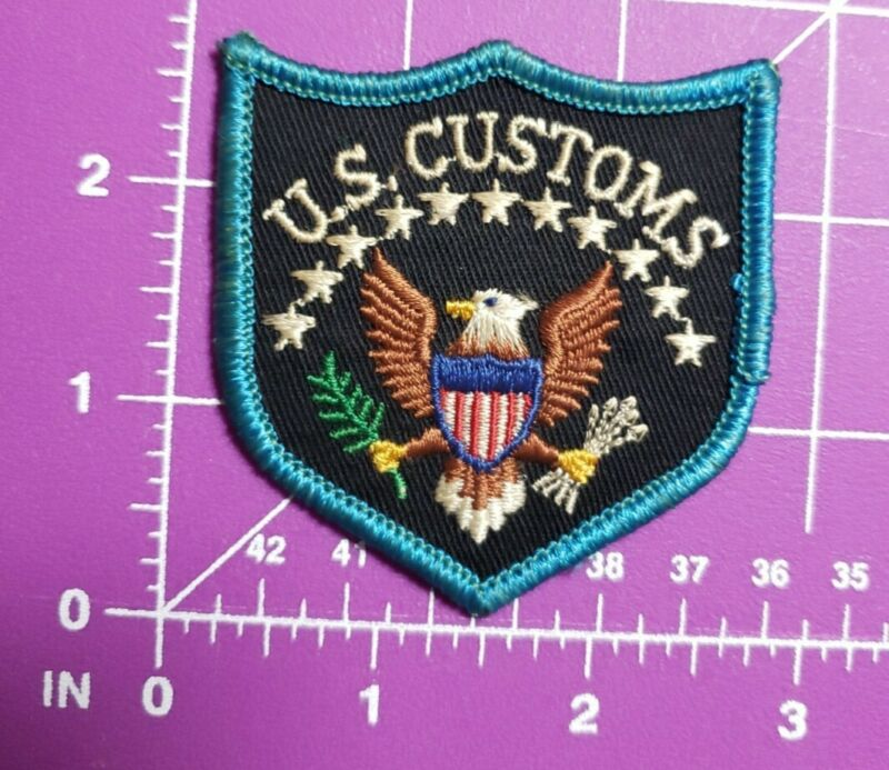 US Customs shoulder patch