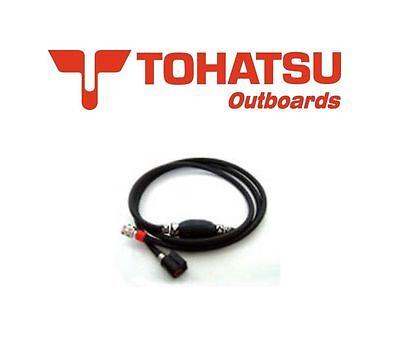 Genuine Tohatsu Outboard Fuel Line & Primer Bulb ~ 4-Stroke Engines 3H6-70200-2
