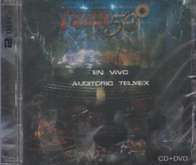 Calibre 50 En Vivo Auditorio Telmex NEW Calibre 50 1 CD / 1 DVD SHIPS NOW !