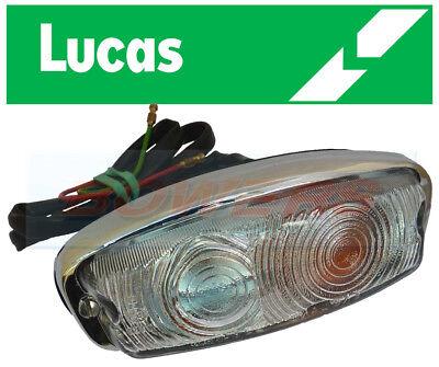 GENUINE LUCAS 52507 L584 FRONT LEFT HAND LH INDICATOR / SIDE LIGHT LAMP 13H428