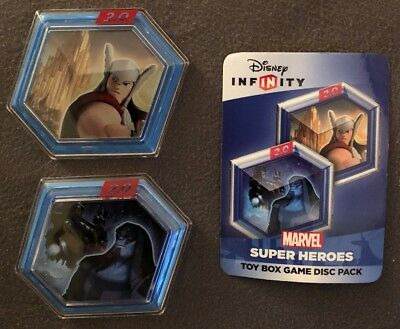 INFINITY 2.0 Power Game Disc Pack Marvel Super Heroes Disney Thor Kyle Free Ship (Marvels Power Disc)