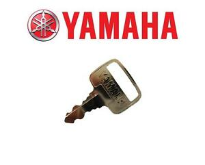 Yamaha Genuine Outboard Ignition Key - Number 831