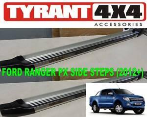 Ford Ranger 2013+ XLS XLT Side Steps Running Boards Flat Nerf Kings Park Blacktown Area Preview
