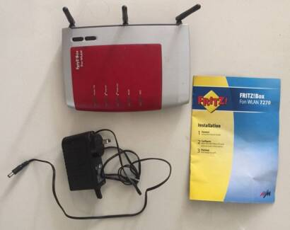 FRITZ!Box 7270 all-in-one ADSL2+ modem router