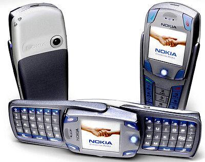 Unlocked Gsm Triband Bluetooth Phone - Nokia 6820 Blue,UNLOCKED TRI-BAND,CAMERA,BLUETOOTH,FULL KEYBOARD GSM CELLPHONE.