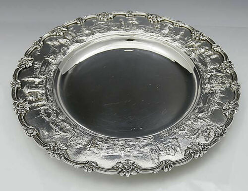 LANDSCAPE by KIRK Sterling Silver Charger TRAY 42 oz No Monogram