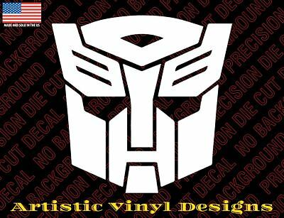 - Transformers Autobot decal sticker for wall, car, laptop, etc