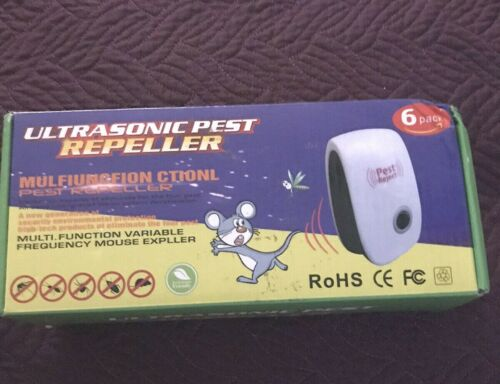 Ultrasonic Pest Repeller 6 pack - New - Ship FREE
