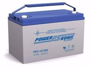 POWER SONIC PDC121250 12v 125ah AGM Deep Cycle Battery Kilsyth Yarra Ranges Preview