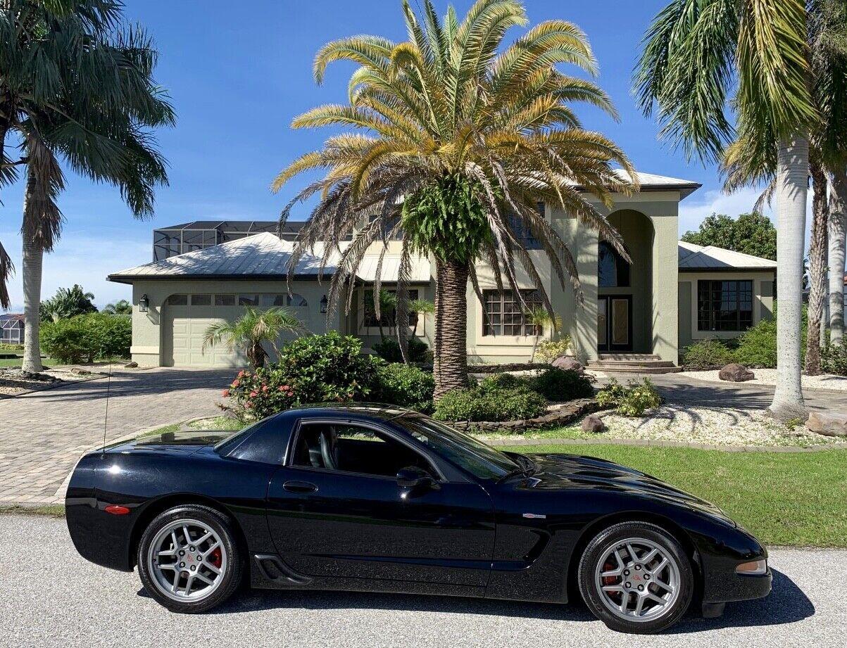 2003 Black Chevrolet Corvette     C5 Corvette Photo 1
