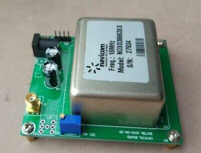 10mhz Ocxo Crystal Oscillator Frequency Standard Reference With Board 7dbm Sma