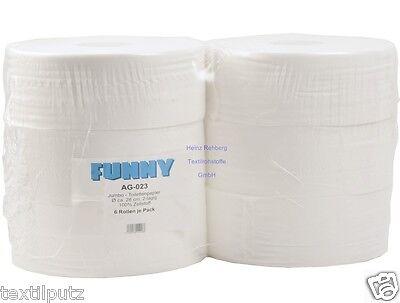 Jumborollen WC-Papier 9,5cm 2lagig 343m auch für TORK T1 WC-Rolle Klopapierrolle