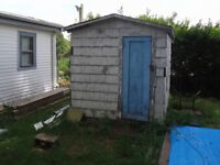 Shed tear down and removal