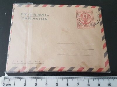 10 Vintage Envelopes Mini Retro Airmail Brown Kraft Paper UK SHOP PosteItalia