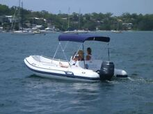 AB Nautilus 17 Deluxe RIB Bowrider with Yamaha 115HP Cronulla Sutherland Area Preview