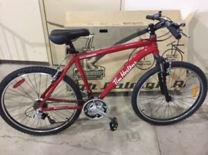 Brand new mountain bike. Raleigh. Tim Hortons branded. $200