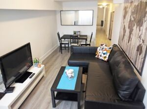 Fully Furnished 4 Bedroom- Centretown