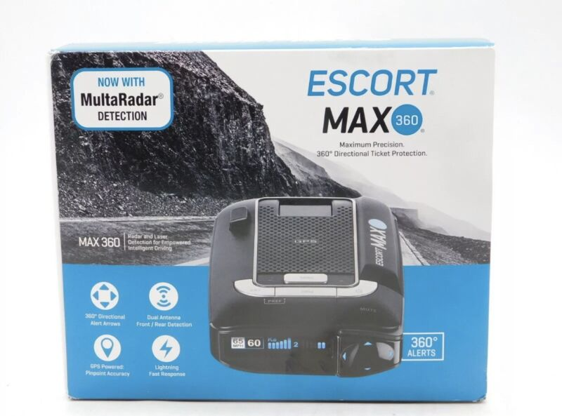 *Brand New Sealed* ESCORT MAX360 Laser Radar Detector