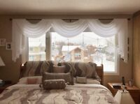 Professional Seamstress for custom home decor sewing