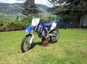 09 Yz450f dirtbike