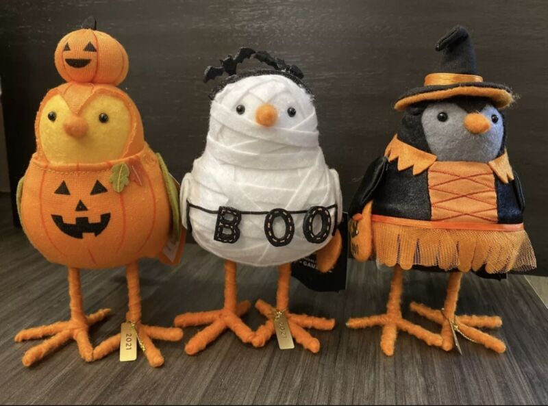 Target Halloween Birds Hyde and Eek! Kettle Witch Gauzey Pumper 3pcs