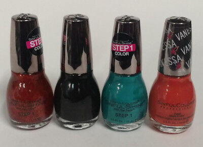 Halloween Nail Polish Set (Sinful Colors Nail Polish, Halloween Inspired Set of 4)