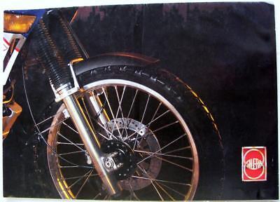 GILERA XRT600 plus XRT Poster Original Motorcycle Sales Brochure