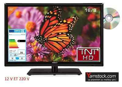 Combiné Télévision  +  lecteur DVD LED 22