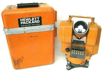 Hp 3820a Vintage Total Station Survey Equipment Edm Distance Measurement