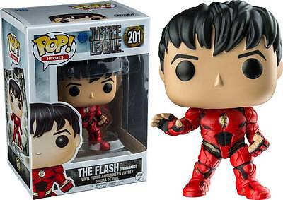 Funko Pop Justice League The Flash Unmasked Regal Cinema Exclusive In Hand
