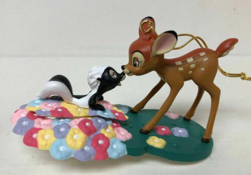 Classic Disney Bambi & Flower Enesco Ornament