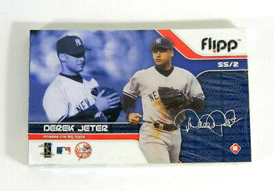 2004 Flipp Sports Derek Jeter Alex Rodriguez Sealed Flip Booklet