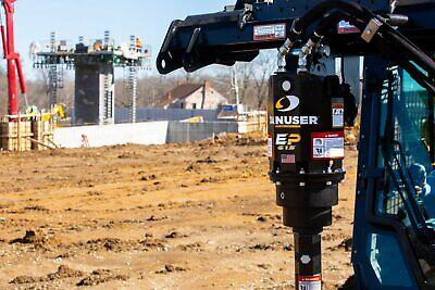 Danuser Ep615 Hex Auger Drive Unit Center Offset Fits Skid Steer Quick Attach