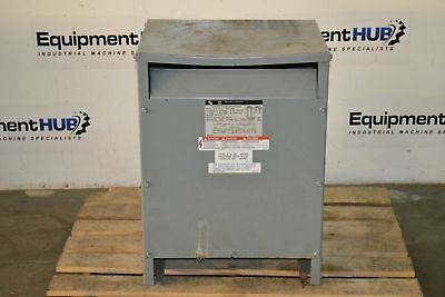 Square D 25s3h Transformer 25 Kva 1 Phase 240 - 480 Primary Volt