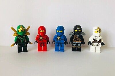 Lego Ninjago Minifigure Kai Jay Lloyd Cole Zane Job Lot X 5