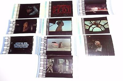 STAR WARS MOVIES RARE 75 FILM CELL LOT * INVENTORY CLEARANCE