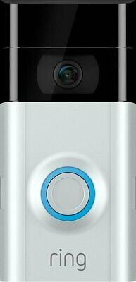 NEW Sealed Ring Video Doorbell 2 Wire-Free Video Doorbell with 1 Year Warranty