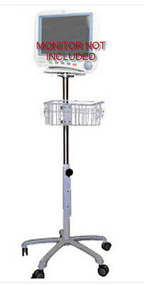 Rolling Stand For Ge Dash 30004000 Monitor New Small Wheel