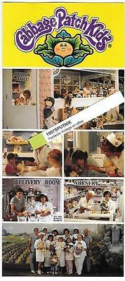 Cabbage Patch Kids Adoption Center Advertising Flyer ca 2000 Anaheim Hobby City