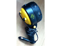 Searchlight (Portable) with Krypton bulb: for car, farm, marine, caravans (standard 9-12v connector)