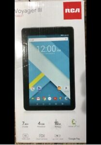 """RCA Voyager lll Tablet 7"""" display, 16GB battery is 50%"""